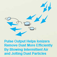 Pulse Mode More Efficiently Removes Dust