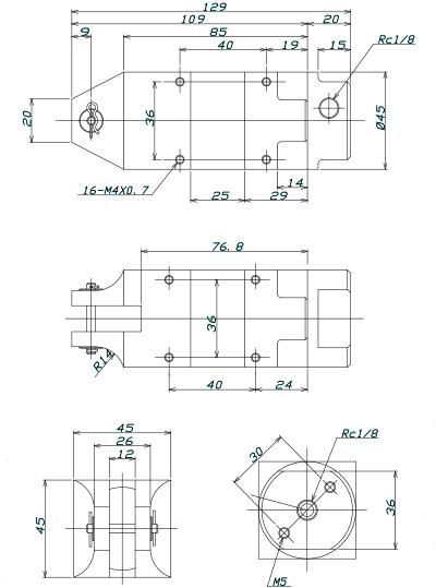 GT-NS20 Dimensions